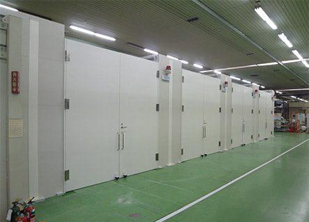 X線測定室